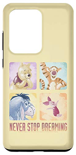 Galaxy S20 Ultra Disney Winnie The Pooh Group Shot Never Stop Dreaming Box Up Case