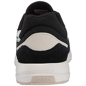 adidas Women's Retrorun Running Shoe, core Black/Cloud White/Alumina, 8 M US