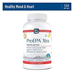 SAME DEPENDABLE OMEGA 3 SUPPORT - EPA and DHA occur naturally together in fish oil and work best together in the body. Research shows that each fatty acid has unique benefits and ProEPA Xtra also has a serving of DHA. DHA is the fatty acid that suppo...