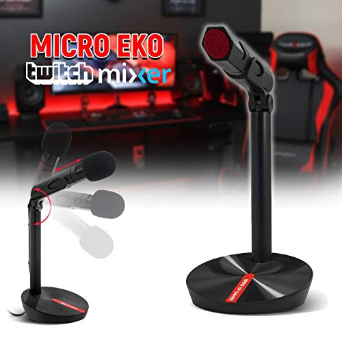 SOG EKO Gaming en Streaming live microfoon (switch, mixer, discord) – PC en Mac