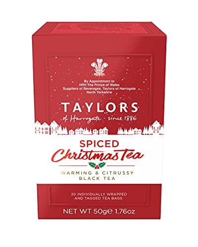 Taylors of Harrogate Spiced Christmas Tea, 20 Teabags