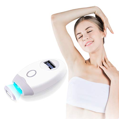 IJNUHB IPL Geräte Haarentfernung Tragbare Dauerhaft Schmerzlose Epilierer 500,000 Blitze Damen haarentfernungsgerät für Ganzkörper-Heimgebrauch