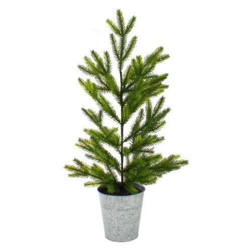 1 Pcs 2' Potted Pine Medium Artificial Christmas Tree Unlit XMAS20 BA117