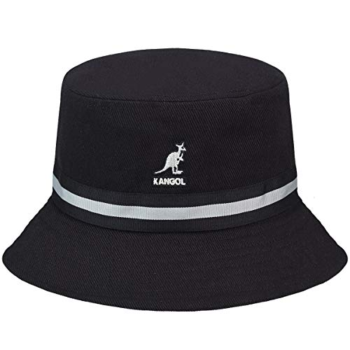 Kangol Stripe Lahinch Bob, Noir, XL Mixte