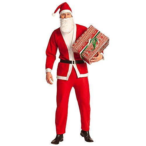 Boland- Costume Babbo Natale per Adulti, Rosso/Bianco, M/L, 13411