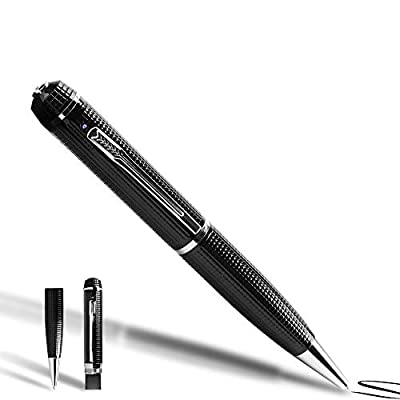 1080P HD Spy Pen Camera Mini Video Recorder with Photo Taking Function, 16GB Memory Card Built in by SHENZHEN DAWU TIMES TECHNOLOGY CO., LTD
