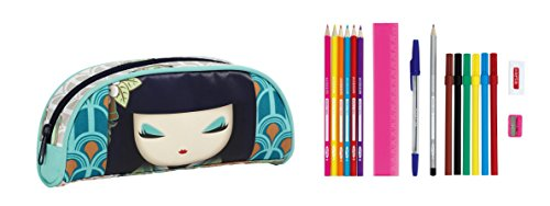 Kimmi Doll - Portatodo Lleno, 17 Piezas, 20 x 9 cm (SAFTA 821531708)