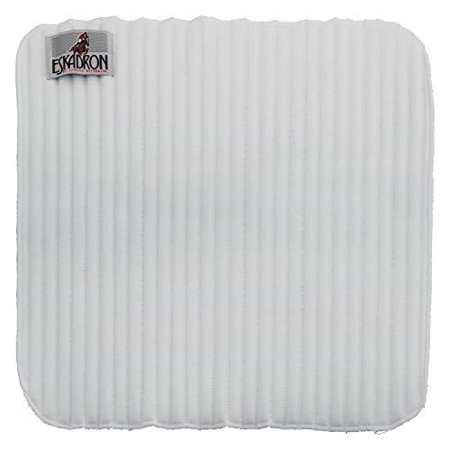 Eskadron CLIMATEX Bandagierunterlagen, weiß, 45 x 45 cm (Warmblut groß)