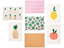 Cute Fruit and Veggie Stationary