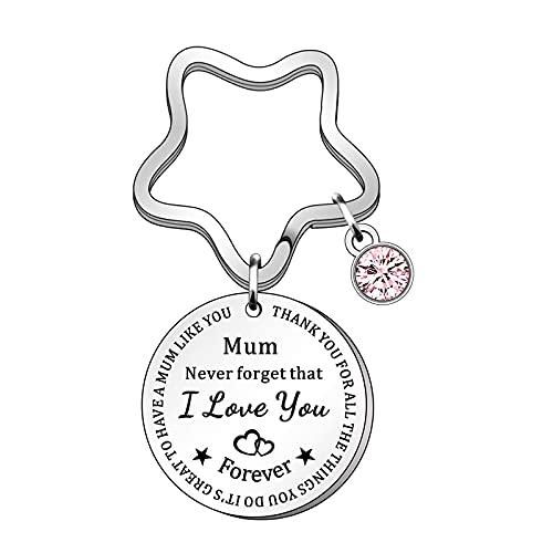 Muttertagsgeschenk, SchlüSselanhänger mit Gravur Geschenke für Mama, Personalisiert Geschenke Gelten für Muttertag Geschenk geburtstagsgeschenk