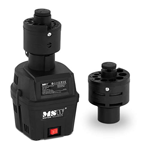 MSW MSW-BS-70 Bohrerschleifgerät Bohrerschärfgerät 70 W 1.600 U/min Wechselkopf 3 bis 16 mm