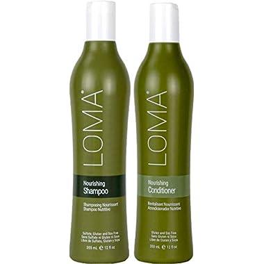 Loma Hair Care Nourishing Shampoo & Conditioner Duo