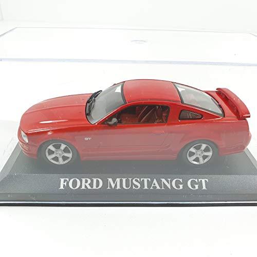 Desconocido 1/43 Car Coche Modelo Mustang GT Rojo Red ALTAYA