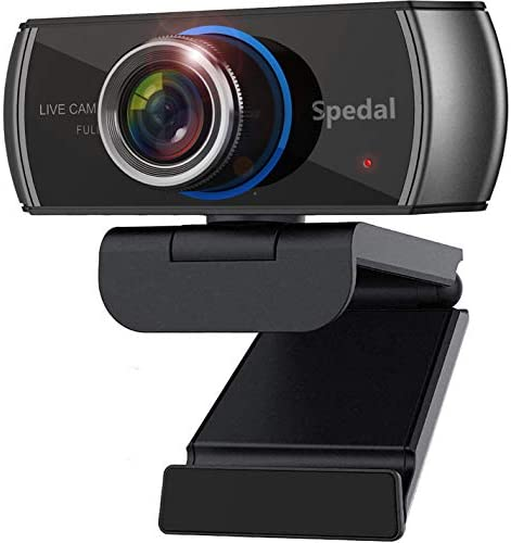 Spedal HD Webcam with Stereo Microphone 1080P H 264 720 Degree Wide Angle Face Cam Twitch Face product image