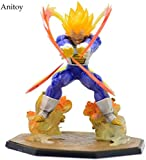 CXNY Figuras de acción 15cm Dragon Ball Z Super Saiyan Vegeta Battle State Final Flash PVC Modelo de...
