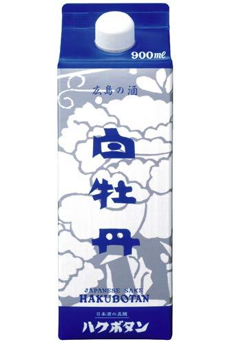 広島の酒 白牡丹パック 900ml