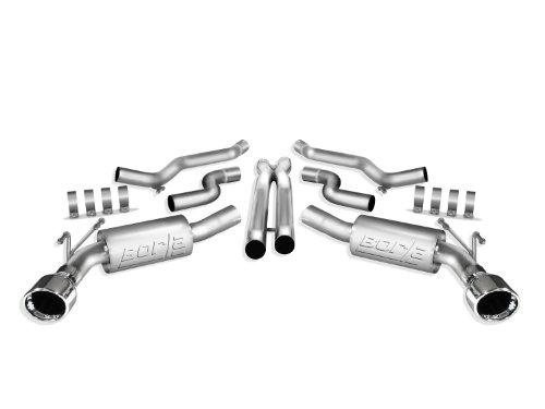 Borla 140280 Cat-Back Exhaust System - CAMARO '10 6.2L V8 AT/MT RWD 2DR