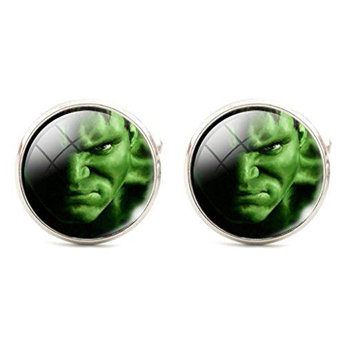 Hulk Cosplay Cufflinks Manschettenknöpfe