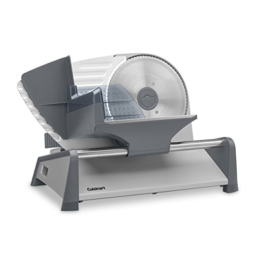 Cuisinart FS-75 Kitchen Pro Food Slicer, 7.5, Gray