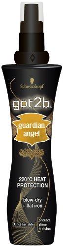 2 x Schwarzkopf Got2b Guardian Angel Heat Protection Spray Got2be