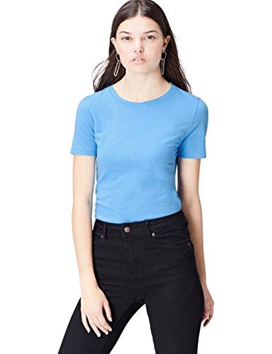 find. Camiseta para Mujer, Azul (Agua), 42 (Talle Fabricante: Large)