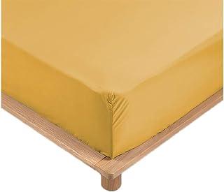 Promo Linge Drap Housse Percale 100% Coton 10 Coloris Différents - 90 X 190cm - 140 X 190cm - 160 X 200cm - 180 X 200cm - ...