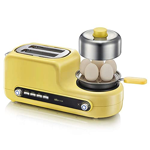 tostadora y huevos de la marca