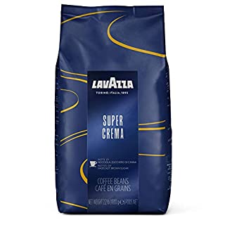 Lavazza Super Crema Whole Bean Coffee Blend, Medium Espresso Roast, 2.2 Pound (Pack of 1) (B000SDKDM4) | Amazon price tracker / tracking, Amazon price history charts, Amazon price watches, Amazon price drop alerts