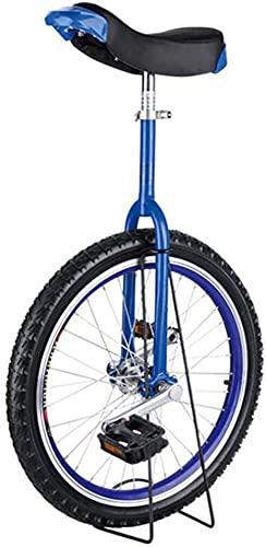 MLL Bicicleta de Equilibrio, Monociclo para niños y niñas con Rueda de 16'/ 18' / 20'/ 24', Adultos, niños Grandes, Unisex, Adultos, Principiantes, Amarillo, monociclos, Carga 150 kg