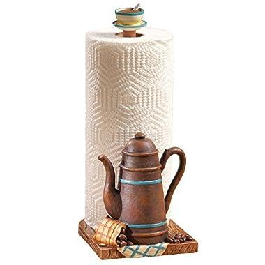 Coffee Pot Kitchen Paper Towel Holder