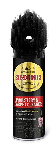 Simoniz SAPP0084A Upholstery Cleaner with Brush 400ml