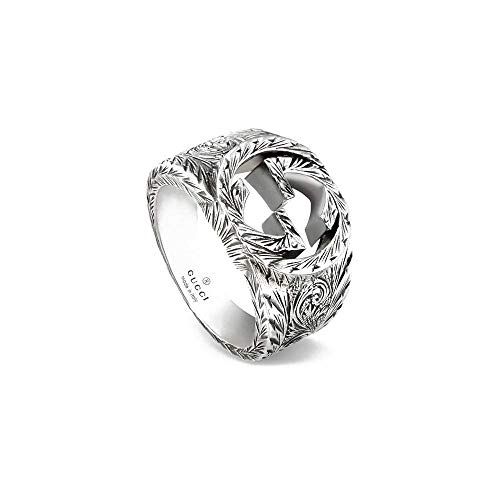 Gucci ringe Interlocking G 66 YBC455302001026 Größe 66 YBC455302001026