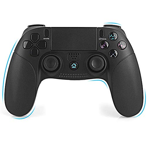 Mando Inalámbrico para PS4 - FAGORY Controlador PS4 Mando de juegos inalámbrico Gamepad Bluetooth, Playstation 4 Joystick de doble vibración para PS4 / PS4 Slim / PS4 Pro / PS3 / PC (Windows 7/8/10)