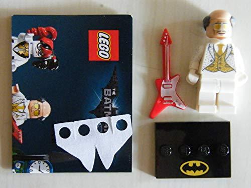 The LEGO Batman Movie Minifgur 71020 Disco Alfred Pennyworth - Coltlbm2-02 - Figura de disco Alfred Pennyworth (1 tenedor Galaxyarms y Katana), color dorado
