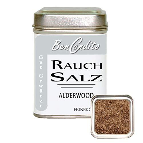 BenCondito - Rauchsalz Salish Alderwood - Mit Roterle Geräuchertes Salz 140gr