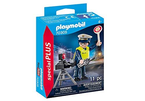Policier avec Radar de Vitesse
