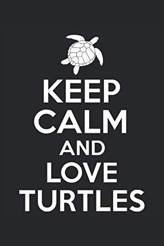 Terminplaner 20/21: Terminkalender für 20 & 21 mit Keep Calm and love Turtles | Schildkröten Spruch Cover | Wochenplaner 2020/2021 | elegantes ... | für Familie, Beruf, Studium und Schule
