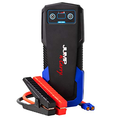Clore Automotive Jump-N-Carry JNC325 12-Volt Lithium Jump Starter, Car Battery Booster Pack, and Jumper Cables for Up to 8-Liter Gasoline and 6-Liter Diesel Engines