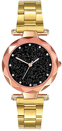 Mano Reloj Reloj de pulsera de acero inoxidable de lujo de lujo de las mujeres relojes de moda para mujer vestido de moda para mujer relojes de las mujeres relojes de pulsera de cuarzo analógico Reloj