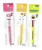 Sanrio Character 3-D Mascot Ballpoint Pen Japan Special Set of 3 1 SET PER ORDER (My Melody/Gudetama/Keroppi)