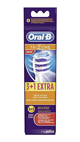 Braun Oral-B Trizone 3er+1 Aufsteckbürsten/Aufsätze