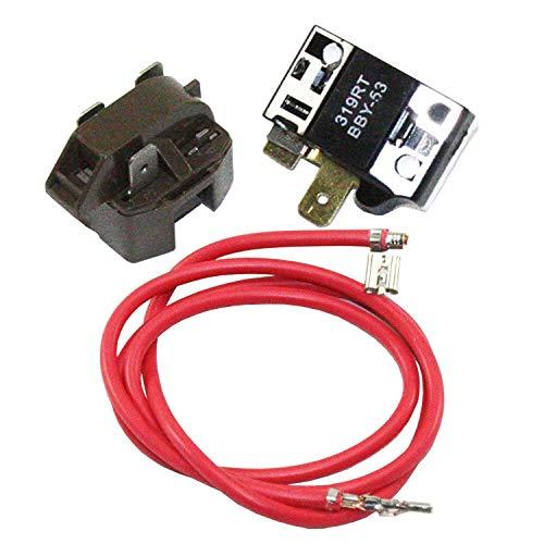 Supplying Demand 4387535 Refrigerator Compressor Relay Overload Kit 4357210, 4387767