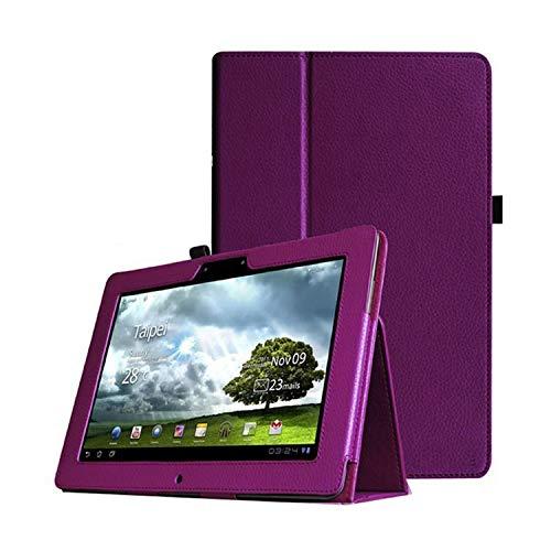 Voor Asus Memo Pad Fhd 10,1 Zoll ME301T ME302 ME302C ME302KL Tablet Lederen Beschermhoes-lila