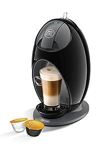 DeLonghi Nescafé Dolce Gusto Jovia Pod Capsule Coffee Machine, Espresso, Cappuccino, Latte and more,EDG250.B, Black