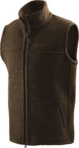 Mufflon Woll-Weste Waku brown Gr. XL