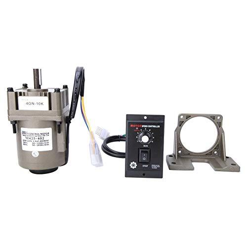 Motorreductor eléctrico de CA, M425-402 220V 25W Motor de engranaje reversible de...