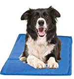Chillz Cooling Mat For Dogs, Large - Pressure Activated Gel Dog Cooling Mat - No Need to Freeze Or Refrigerate This Cool Pet Pad - Keep Your Pet Cool, Use Indoors, Outdoors or in the Car