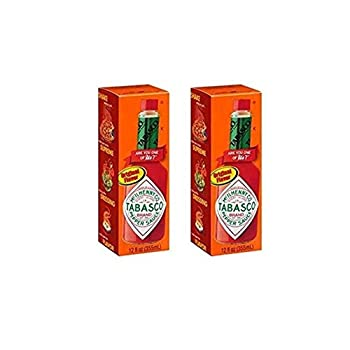 Tabasco Original Flavor Pepper Sauce 12 Fl oz  2 pack