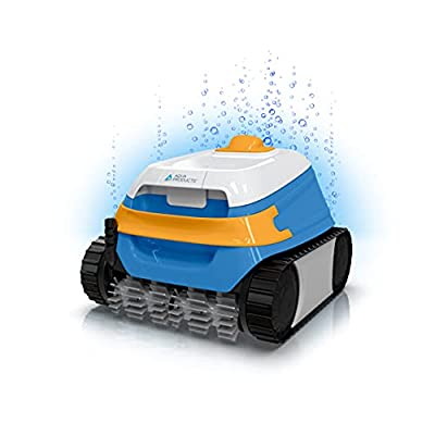 Aqua Products EVO604 Evo 604 Robotic In Ground Pool Cleaner with Dual Traction Motor, 2 Cleaning Modes, and 60-Foot Tangle-Less Swivel Cable Multi-Colored, Multicolor