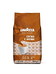 1 kg pack of medium roast whole bean Lavazza coffee with a level 8 intensity A balanced blend of selected Arabica and Robusta beans with a rich flavour and a hint of chocolate Great for bean to cup machine, filter coffee machine, or ground for a Fren...
